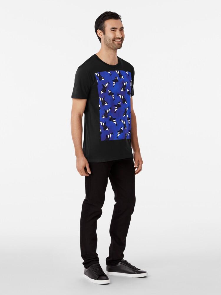Alternate view of Killer whale Premium T-Shirt