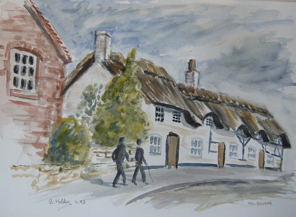 Walking through Repton by BRIAN HOLDEN