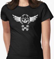 Biker Spirit Women's Fitted T-Shirt