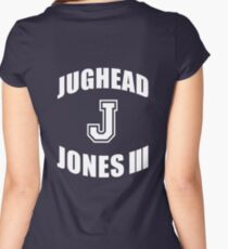 """Jughead """"J"""" Jones III - Riverdale (B) Women's Fitted Scoop T-Shirt"""