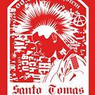 Santo Tomas de los pelos parados by Irving Vazquez