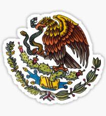 Mexican National Emblem Sticker