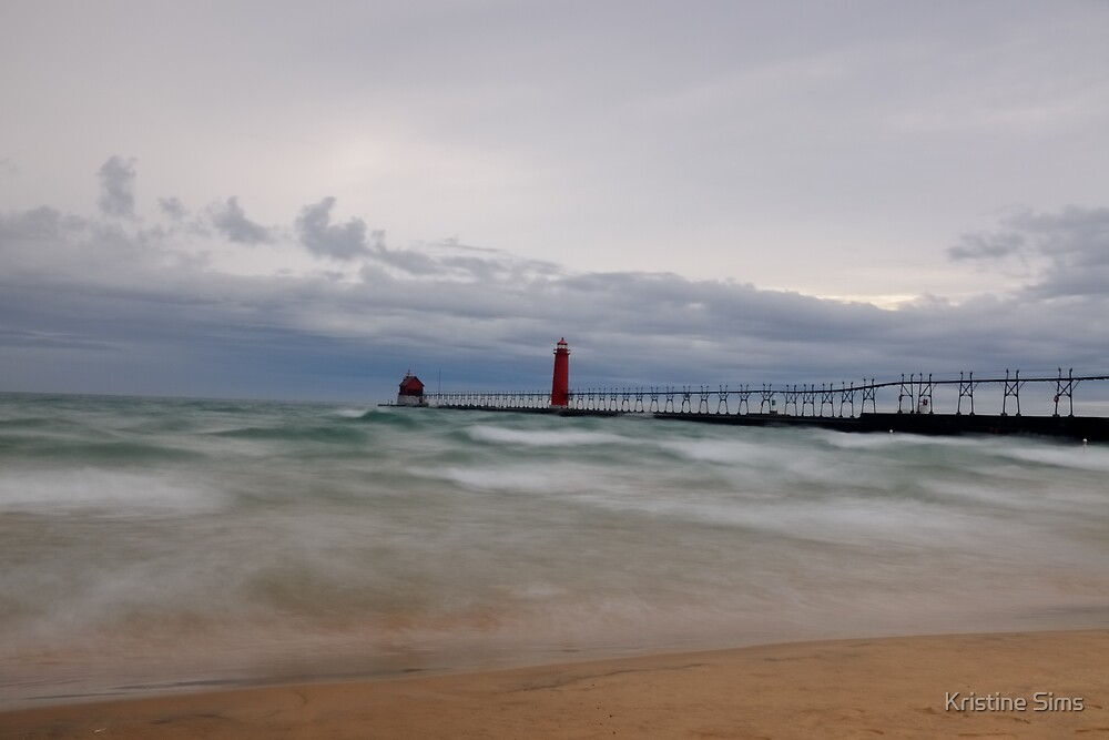 Grand Haven Storm by Kristine Sims