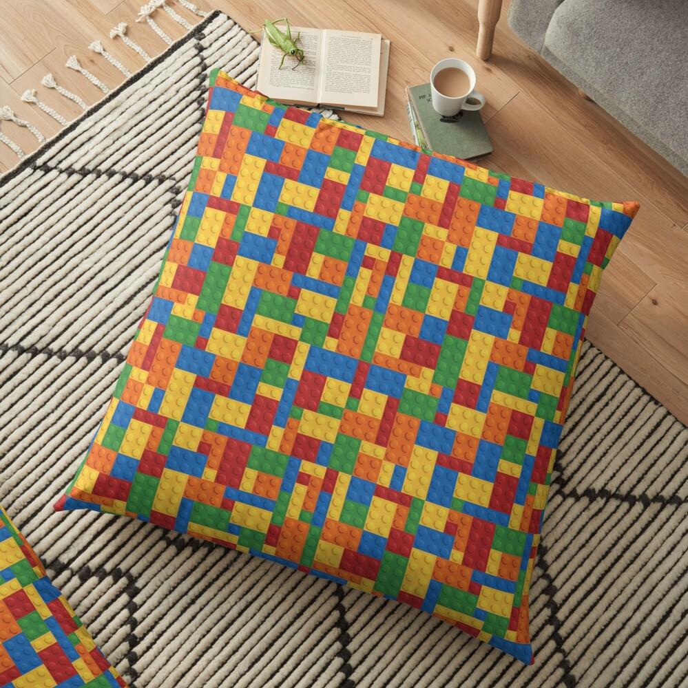 LegoLove Floor Pillow