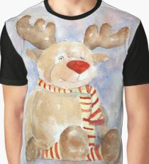 Rudy Reindeer Graphic T-Shirt