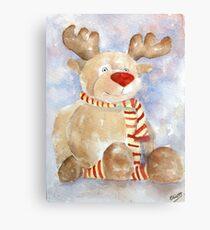 Rudy Reindeer Canvas Print