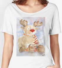 Rudy Reindeer Women's Relaxed Fit T-Shirt