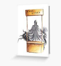 Dementor Kisse Greeting Card