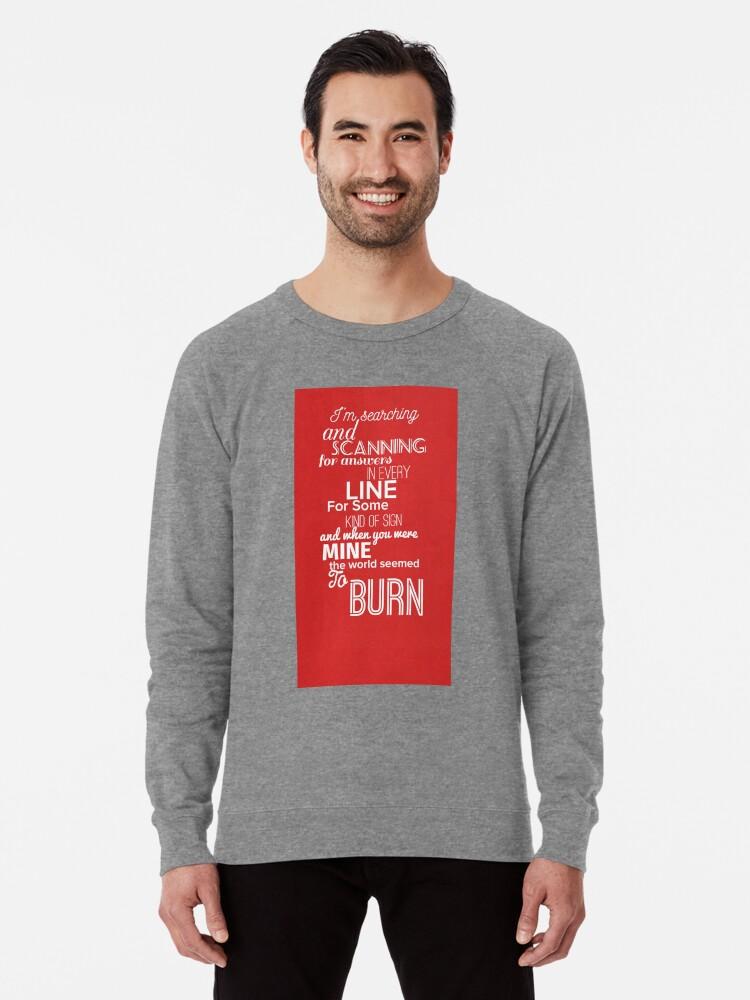 'Alexander (Hamilton) Musical! BURN - Eliza Schuyler ' Lightweight  Sweatshirt by Sass, Shade & Pink Lemonade