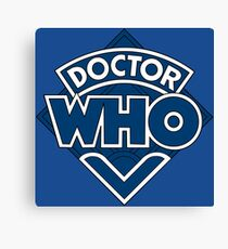 Doctor Who Classic Logo Canvas Print