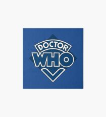 Doctor Who Classic Logo Art Board
