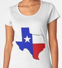 Texas state flag Women's Premium T-Shirt