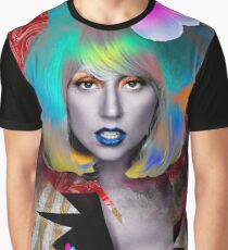 Tropical Portrait of Mother Monster Graphic T-Shirt