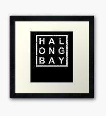 Stylish Ha Long Bay Framed Print