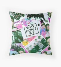 why dont we Throw Pillow