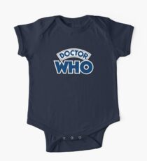 Classic Doctor Who Book Logo Kids Clothes