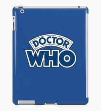 Classic Doctor Who Book Logo iPad Case/Skin
