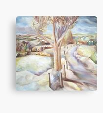 Covering Of Snow Canvas Print