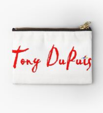 Tony DuPuis Signature #2 Zipper Pouch