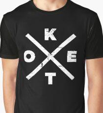 Distressed KETO Icon Graphic T-Shirt