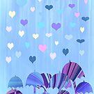 It's Raining Hearts by CarolM