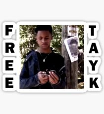 FREE TAY-K Sticker