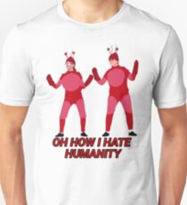 Crabs Who Hate Humans Unisex T-Shirt