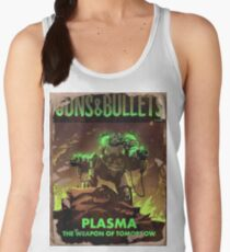 Fallout 4 Guns and Bullets Plasma Weapons of Tomorrow Poster  Women's Tank Top