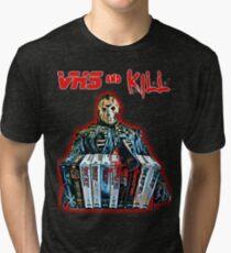 Camiseta de tejido mixto VHS y Kill