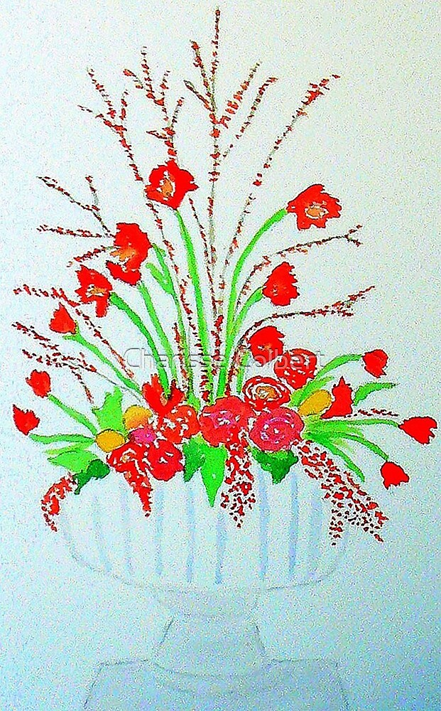 Holiday Flowers by Charisse Colbert