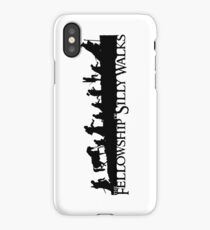 The Fellowship of Silly Walks iPhone Case