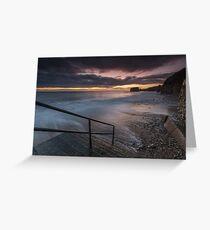 Marsden Beach Stairs Greeting Card