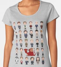 A Field Guide to the Common Cumberbatch (shirt) Women's Premium T-Shirt