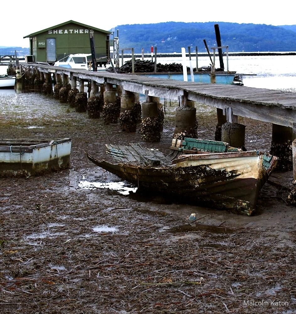 What Lies Beneath - Sheathers Wharf, NSW by Malcolm Katon