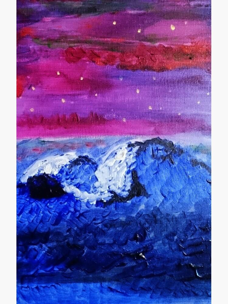 Night landscape by triciafurtado