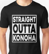 Straight Outta Konoha Unisex T-Shirt