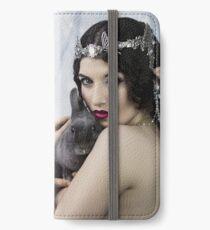 The Bunny Princess iPhone Flip-Case/Hülle/Klebefolie