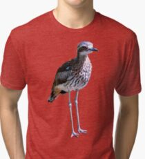 Bush stone-curlew Tri-blend T-Shirt