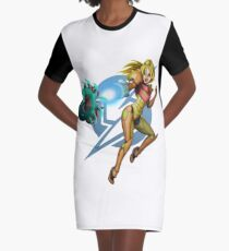 Samus Helmetless Graphic T-Shirt Dress