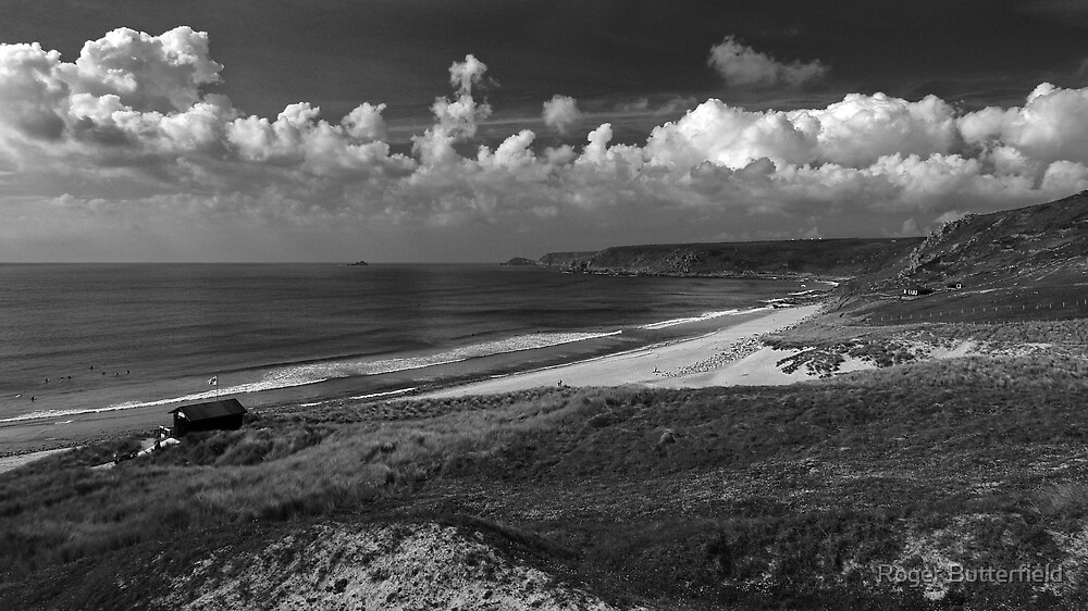 Whitesand Bay by Roger Butterfield