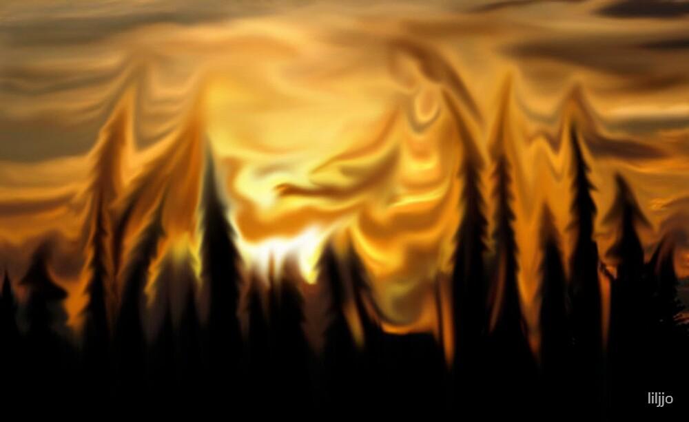 Alaska Sunset by liljjo