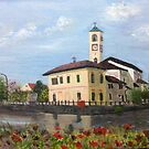Church in Abbiategrasso by Andypainting