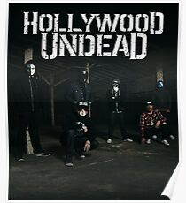 HOLLYWOOD UNDEAD BAND UNDERGROUND THE BEST TOUR Poster