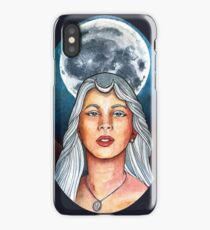 Full Moon Goddess iPhone Case/Skin