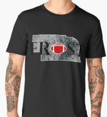FROST TEES | FROST RESTORE NEBRASKA FOOTBALL TRADITION COACH T-SHIRT Men's Premium T-Shirt