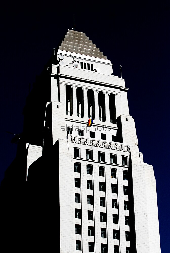 City Hall Shows it's PRIDE! by abfabphoto