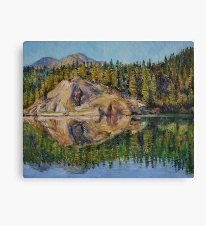 Lady Lake Canvas Print