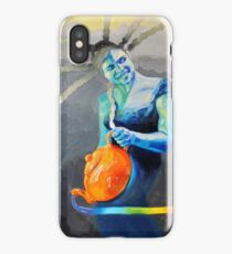 Heal with Rainbow Tea (self portrait) iPhone Case