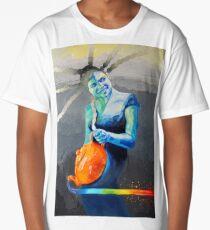Heal with Rainbow Tea (self portrait) Long T-Shirt
