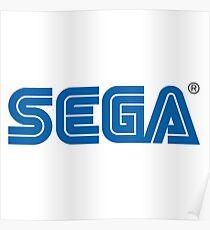 Original Sega Logo Poster